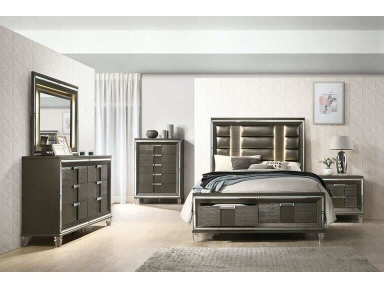 Diva Bedroom Set- King