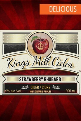 STRAWBERRY RHUBARB Still 375mL
