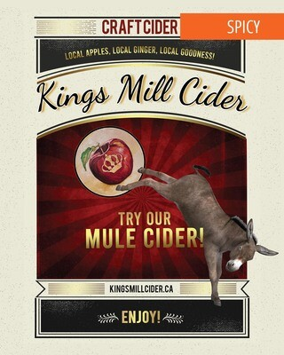 ONTARIO MULE Carbonated 750mL