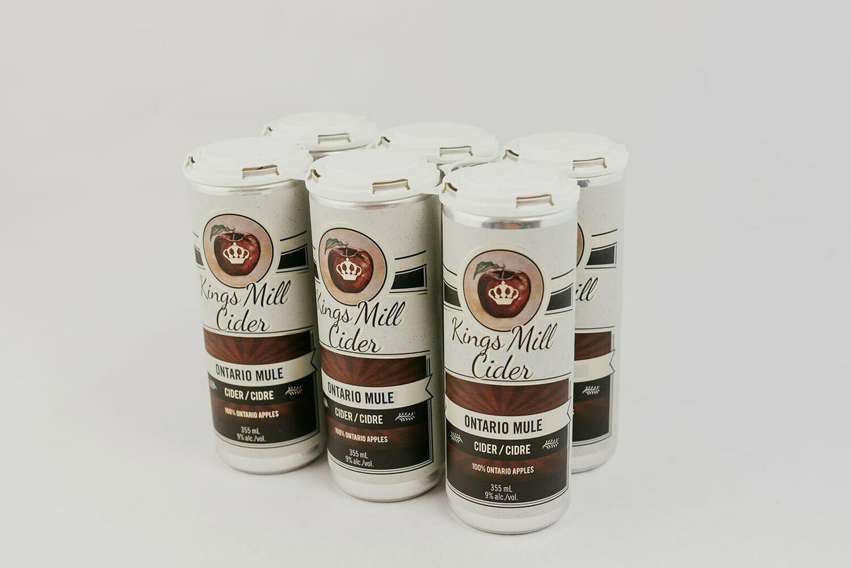 ONTARIO MULE Carbonated 355mL Six Pack