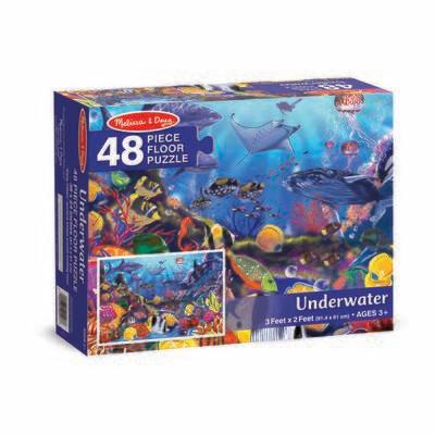 Underwater Floor - 48 piece