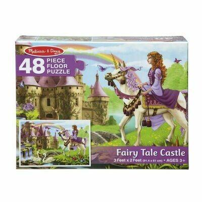 Fairy Tale Castle Puzzle - 48 piece