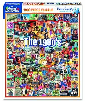 The Eighties Puzzle 1000