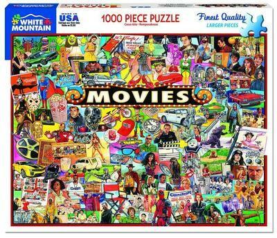 Movies Puzzle - 1000