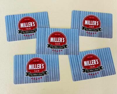 Miller's 5&10 Gift Card