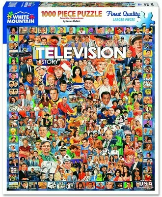 Television History Puzzle 1000