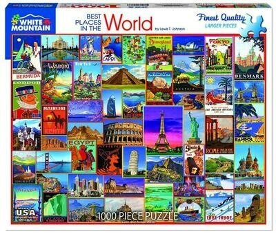 Best Places in the World Puzzle 100