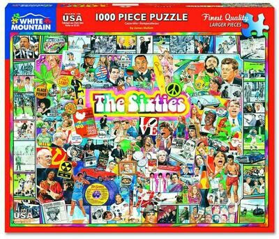 The Sixties Puzzle 1000