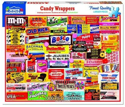 Candy Wrappers Puzzle 1000