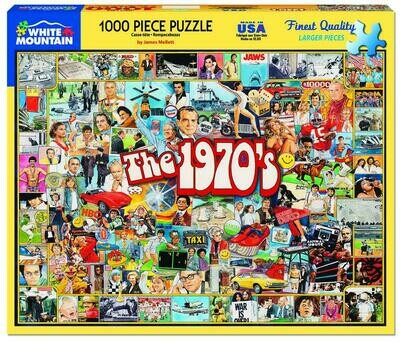 The 1970's Puzzle 1000