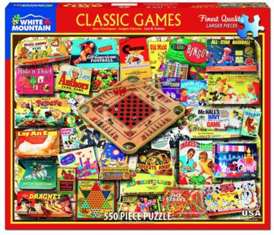 Classic Games Puzzle - 550