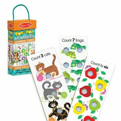 Poke-a-dot Number Learning Card