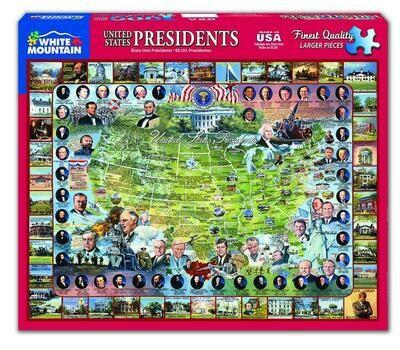 United States Presidents Puzzle 1000