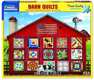 Barn Quilts Puzzle - 1000