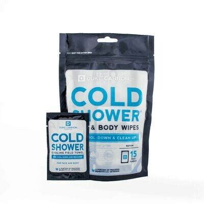 Cold Shower Cooling Wipes 15 ct.
