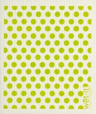 Green Dots Wet-it