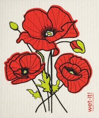 Poppy Flower Wet-it