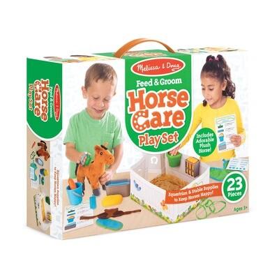 Feed & Groom Horse Care Play Set