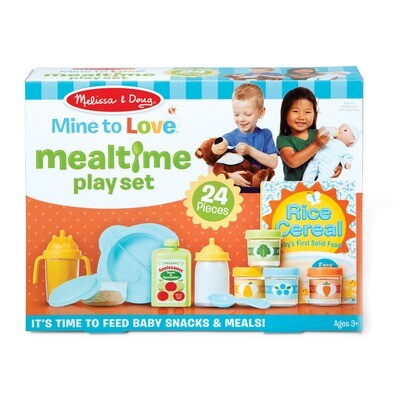 Mine to Love Mealtime Play Set