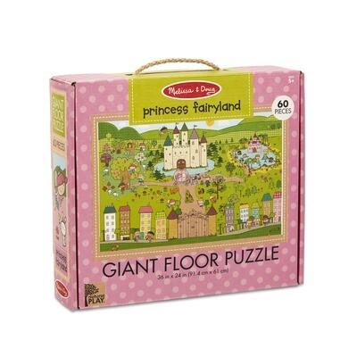 Princess Fairyland - Giant Floor Puzzle