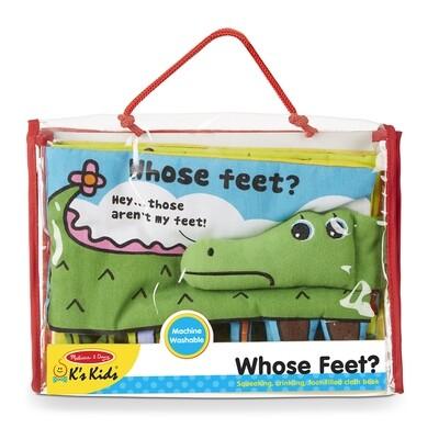 Whose Feet Activity Book