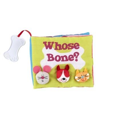 Whose Bone? cloth book