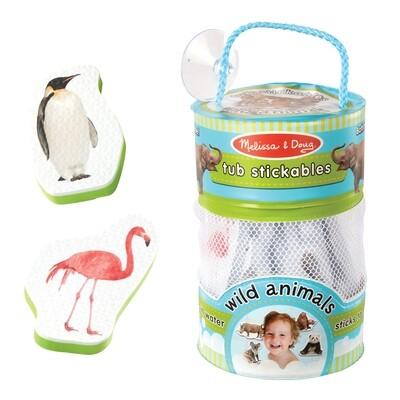 Tub Stickables - Wild Animals
