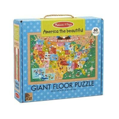 America the Beautiful - Giant Floor Puzzle