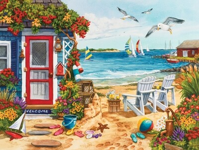 Beach Summer Cottage - 1000 piece