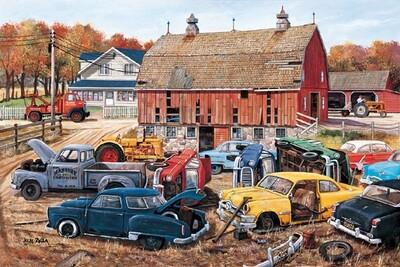 Barnyard Gems Puzzle - 1000 piece
