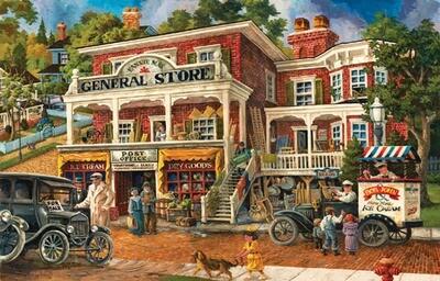 Fannie Mae's General Store Puzzle - 1000 piece
