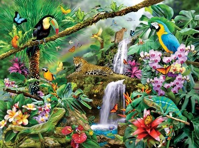 Tropical Holiday Puzzle - 1000 piece