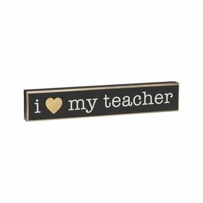 Love My Teacher Sitter