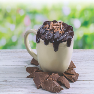 Ooey Gooey Chocolate Brownie Mug Cake