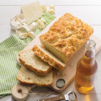 Garlic Parmesan Beer Bread