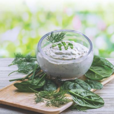 Creamy Spinach & Dill Dip