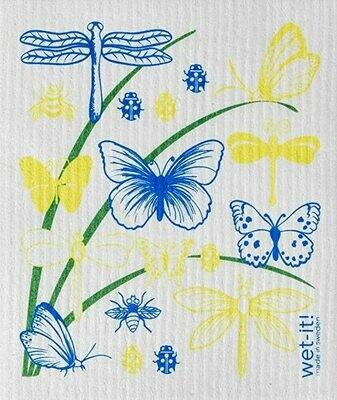 Butterflies and Dragonflies Wet-it