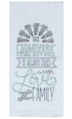 THIS FARMHOUSE EMB F/S TOWEL