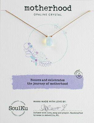 Soul Shine Necklace Opaline - Motherhood