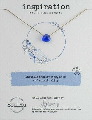 Soul-Full Necklace Azure Blue - Inspiration