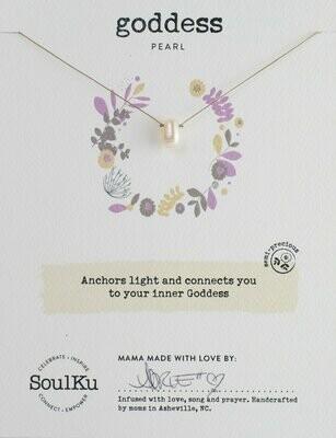 Soul-Full Necklace Pearl - Goddess