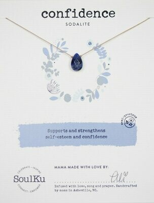 Soul-Full Necklace Sodalite - Confidence