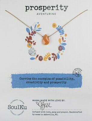 Soul-Full Necklace Aventurine - Prosperity