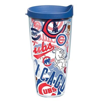 MLB CHI CUBS ALL OVER.DWT.CL1.WRA.16.OZ.EA.BL2