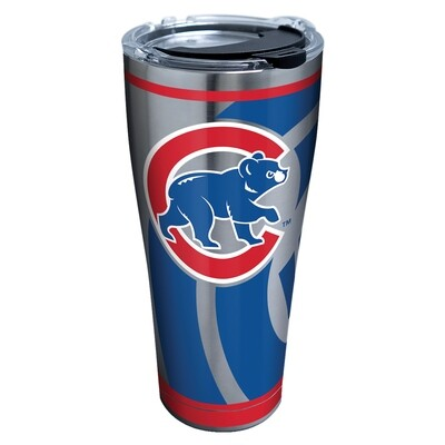 STAINLESS STEEL CHICAGO CUBS GENUINE 30 OZ.