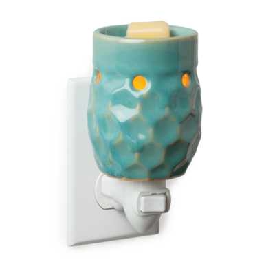 Honey Comb Turquoise Pluggable Fragrance Warmer