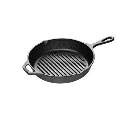 10.25 inch Cast Iron Grill Pan