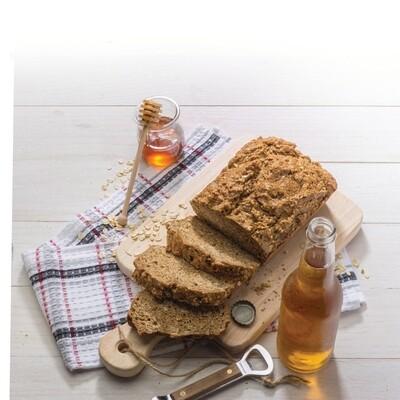 Sweet Whole Wheat Beer Bread