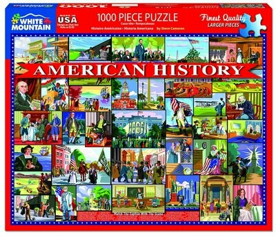 American History Puzzle 1000