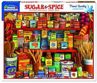 Sugar & Spice Puzzle 1000